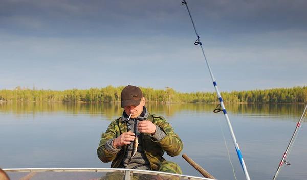 истории рыбалки в карелии